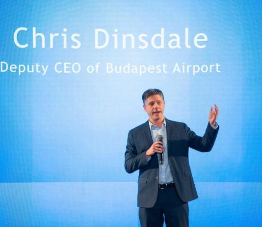 Chris Dinsdale a Budapest Airport élén